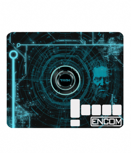 Encom International PC or Laptop Computer Mouse Mat Design From Tron